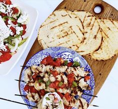 Chicken Kebab, Grilled Chicken, Food Inc, Pita Bread, Party Planning, Grilling, Easy Meals, Dinner, Recipes