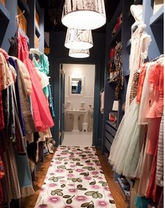 CARRIE's closet will always be my real dream room!