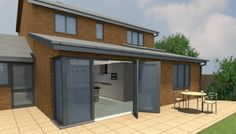 Architects Lancashire New Houses, Eco Houses, Zero Carbon Houses, Contemporary Architectural Designed Individual Properties Extension Google, House Extensions, Traditional House, Sunroom, My Dream Home, My House, Garden Design, Shed, New Homes