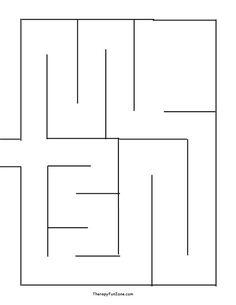 Fabric Marble Maze Pattern