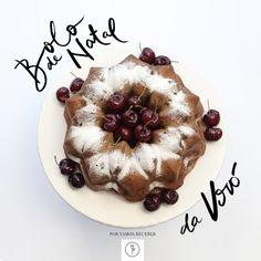 Está procurando um bolo muito fofinho, delicioso e que retrate o espírito natalino? Essa é a receita ideal <3 clique na foto para conferir o passo a passo!