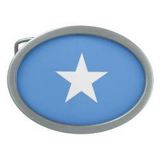 Somalian flag Belt Buckle