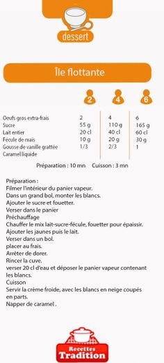 Cookeo :: ile flottante Mousse, Invitations, Food, Instant Pot, Charlotte, Cookie, Table, Sweet Recipes, Thermomix