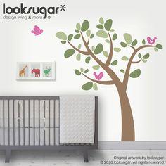 Children Wall Decals  LS Original Design  Tree Wall by looksugar, $58.00