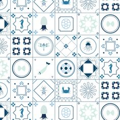 Blue Tile / All The Fruits - London Design Journal