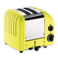 DUALIT 2 Slice NewGen Classic Toaster Citrus Yellow $199.95 LOWEST PRICE ANYWHERE-GUARANTEED...PICK UP OR WE WILL SHIP FREE WORLDWIDE... 100% MONEY BACK SATISFACTION GUARANTEE www.shopculinart.com