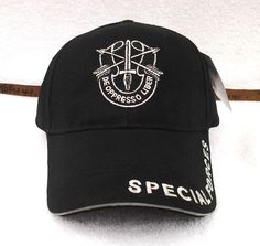 05cf6d4f005 SPECIAL FORCES Military Veteran US ARMY BLACK Hat 5499 MTEC  Eagle  BaseballCap  Veteran Hats