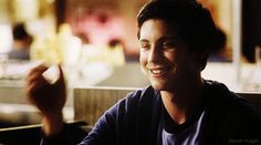 Logan Lerman as Charlie in Perks. AWW his laugh is just too adorable (GIF)