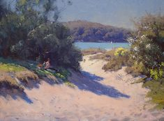 Pictures of the Warwick Fuller - 'Facets of Light' exhibition at the Panter & Hall Gallery Australian Painting, Australian Artists, Landscape Art, Landscape Paintings, Seascape Paintings, Modern Landscaping, Beautiful Paintings, Love Art, Painting Inspiration