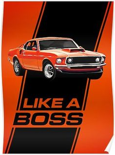 Vintage Motorcycles Muscle 1969 Mustang Boss 429 - Like a Boss! Additional sizes are available. 1969 Mustang Boss 429 - Like a Boss! Ford Mustang 1969, Ford Mustang Boss, Mustang Cobra, Car Ford, Ford Mustangs, Mustang Girl, Mustang Fastback, Ford Gt, Chevy