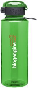 28 Oz. H2Go BPA Free Pismo Apple Water Bottle