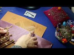 026 Introducir pares de bolillos a punto de lienzo y medio punto. tutoriales Raquel Bolillotuber - YouTube