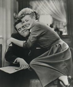 """""""I Love Lucy was never just a title."""" -Desi Arnaz (with Lucille Ball) by lena"""