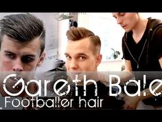 Gareth Bale inspired hairstyle - Tutorial for men's hair By Vilain Silve...