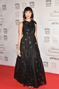 Caitriona Balfe In Erdem attends the IFTA Film & Drama Awards in Dublin. #bestdressed