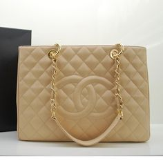 Chanel Classic Bag ... GST in Beige