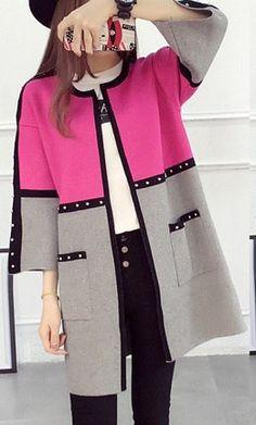 ✂ #моделирование@sewing_school   Пальто Iranian Women Fashion, Korean Fashion, Abaya Fashion, Fashion Dresses, Abaya Mode, Hijab Stile, Mode Mantel, Fashion Sewing, Coat Dress