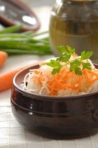 Raw Sauerkraut (Fermented Cabbage)