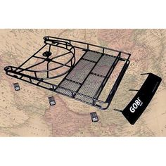 Gobi Jeep Cherokee XJ Ranger Tire Carrier Roof Rack - Trail Duty