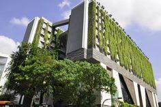 """prédio da """"School of the Arts"""", em Singapura. Projeto de WOHA Arquitetos"""