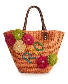 Carlos Santana Handbag, Brasil Rio Straw Bag