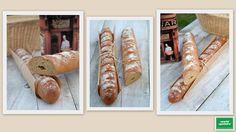 Update1 Rusztikus Bagett Sausage, Bread, Food, Sausages, Essen, Breads, Baking, Buns, Yemek