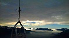 Monte Talm (1728 slm) sopra Ludaria di Rigolato. 23.12.2014