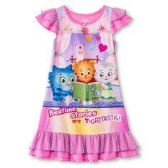 Daniel Tiger Toddler Girls' Nightgown - Pink