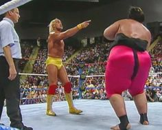 WWF / WWE King of the Ring 1993: Hulk Hogan dropped the WWF title to Yokozuna