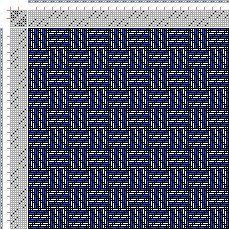 Drawdown Image: Karierte Muster Pl. X Nr. 10, Die färbige Gewebemusterung, Franz Donat, 8S, 8T
