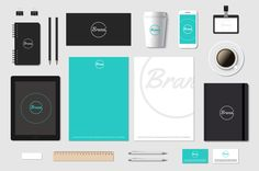 #Branding is so important. We have the answer to getting a sleek overall brand! #brand #logo #business #colour #design