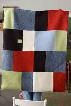 Felt wool quilt | Flickr - Photo Sharing!