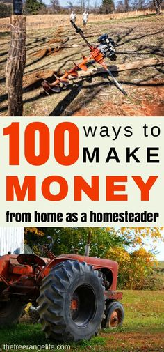 Do you want to quit your job and create a sustainable income from your homestead? Here are 100+ ways to make money farming just to get you started!