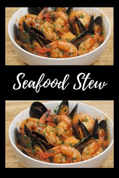 Mixed Seafood Recipe, Seafood Soup Recipes, Fish Recipes, Dinner Recipes, Seafood Dinner, Italian Seafood Stew, Healthiest Seafood, Scallop Recipes, Cooking Recipes