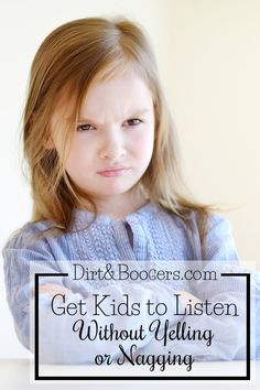 How to get kids to listen without yelling or nagging. As a mom, I love this idea to try in my house.