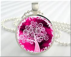 Tree Of Life Jewelry Necklace Pendant Resin by MGArtisanPendants, $12.95