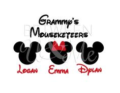 Personalized Mom Dad Grammy Grandma Grandpa by CleanCutStudio, $6.99