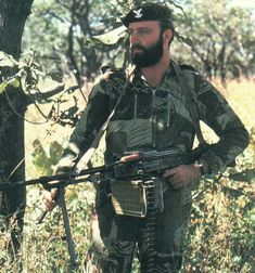 Rhodesian Selous Scouts. Once the most feared counter-insurgency force on the African continent. Formed in 1974 as the Tracker Combat Unit, tracking terrorists internally, and undertaking cross border raids against terrorist strongholds. Their selection process was somewhat similar to that of the British SAS. Later, the Selous Scouts under took many missions in conjunction with the Rhodesian SAS which had a strength of 110 men, many of them former members of the British SAS.