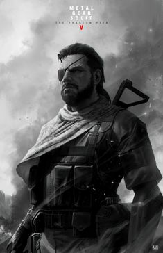 Big Boss MGSV Poster by dKeeNo44