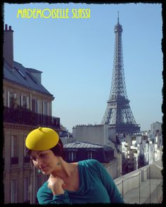 Mademoiselle Slassi is a Parisian brand of happy hats !