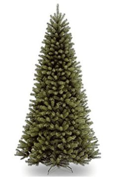 Each of National Tree Company's North Valley Spruce Christmas Trees have hinged branches for quick assembly. You will be very pleased at how realistic it looks. Best Artificial Christmas Trees, Spruce Christmas Tree, Spruce Tree, Christmas Tree Painting, Rustic Christmas, 9 Foot Christmas Tree, Paper Palm Tree, Blossom Tree Tattoo, Wood Garage Doors