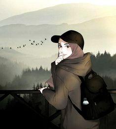 zoemoon - Best of Wallpapers for Andriod and ios Girl Cartoon, Cartoon Art, Photo Islam, Muslim Pictures, Hijab Drawing, Islamic Cartoon, Hijab Cartoon, Islamic Girl, Girly Drawings