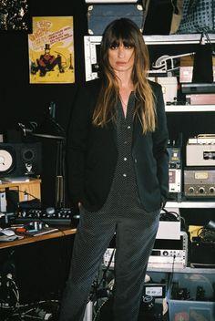 Caroline de Maigret stars in Equipment's Fall 2015 lookbook