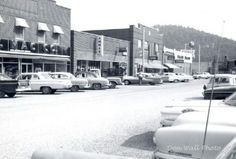 Down town Saltville around 1960 Courtesy of Dwight Tolbert