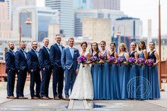 Stone Arch Bridge Wedding Photo | Minneapolis Wedding Photographer Carina Photographics