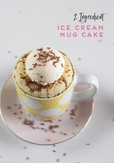 My love for quick, easy and small batch desserts has inadvertently turned me into the single serve recipe queen! My Microwave Mug Cakes consistently rank amongst my most popular recipe, and I am super excited to bring you the easiest mug cake to date. It uses 1 cup, 2 ingredients and cooks in 3 minutes! I was inspired by the Magic Ice Cream Bread trend that was doing the rounds last year, and made it for myself. To be honest, …