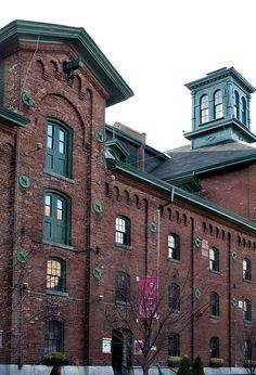 Gooderham and Worts Distillary Toronto,  The Distillery Historic District  55 Mill Street Toronto, ON M5A 3C4   Canada