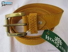 Woodland Men Camel Brown Genuine Leather, Metal Belt.Get it in Rs 510 instead of Rs 1999.