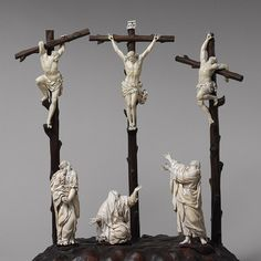 Calvary [German or Netherlandish(?)] (50.182a-g) | Heilbrunn Timeline of Art History | The Metropolitan Museum of Art