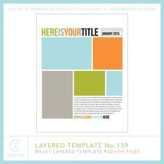Cathy Zielske's Layered Template No. 139- Cathy Zielske - PSE/PS Templates- LT832911- DesignerDigitals